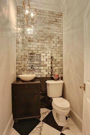 Bathroom Mirror To Stick On Tiles