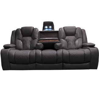 50 Reclining Sofa With Fold Down Console You Ll Love In