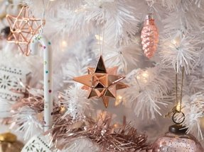 Tinkerbell Christmas Decorations Uk.50 Rose Gold Christmas Ornaments You Ll Love In 2020