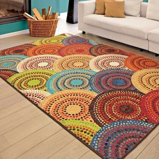 50 Colorful Rugs For Living Room You