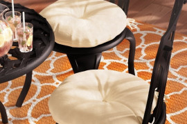 Round Outdoor Chair Cushion
