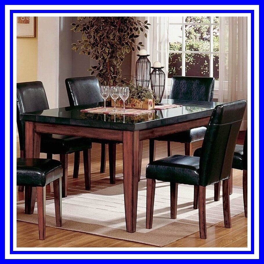 Granite Top Dining Table You Ll Love In 2020 Visualhunt