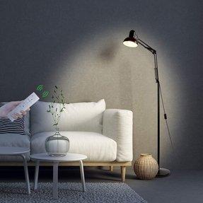 Swing Arm Floor Lamp - Visual Hunt