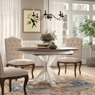 54 Inch Round Dining Tables You Ll Love In 2021 Visualhunt