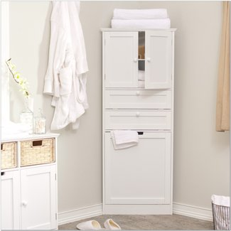 50 Linen Cabinet With Hamper You Ll Love In 2020 Visual