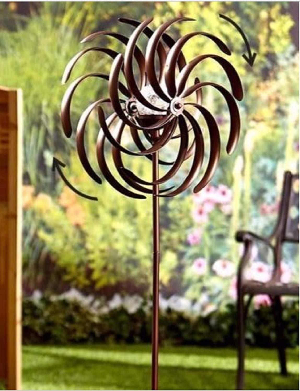 Decorative Lawn Ornament Wind Mill The Original Rainbow Wind Spinner