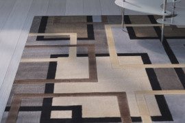 Gray And Brown Area Rug