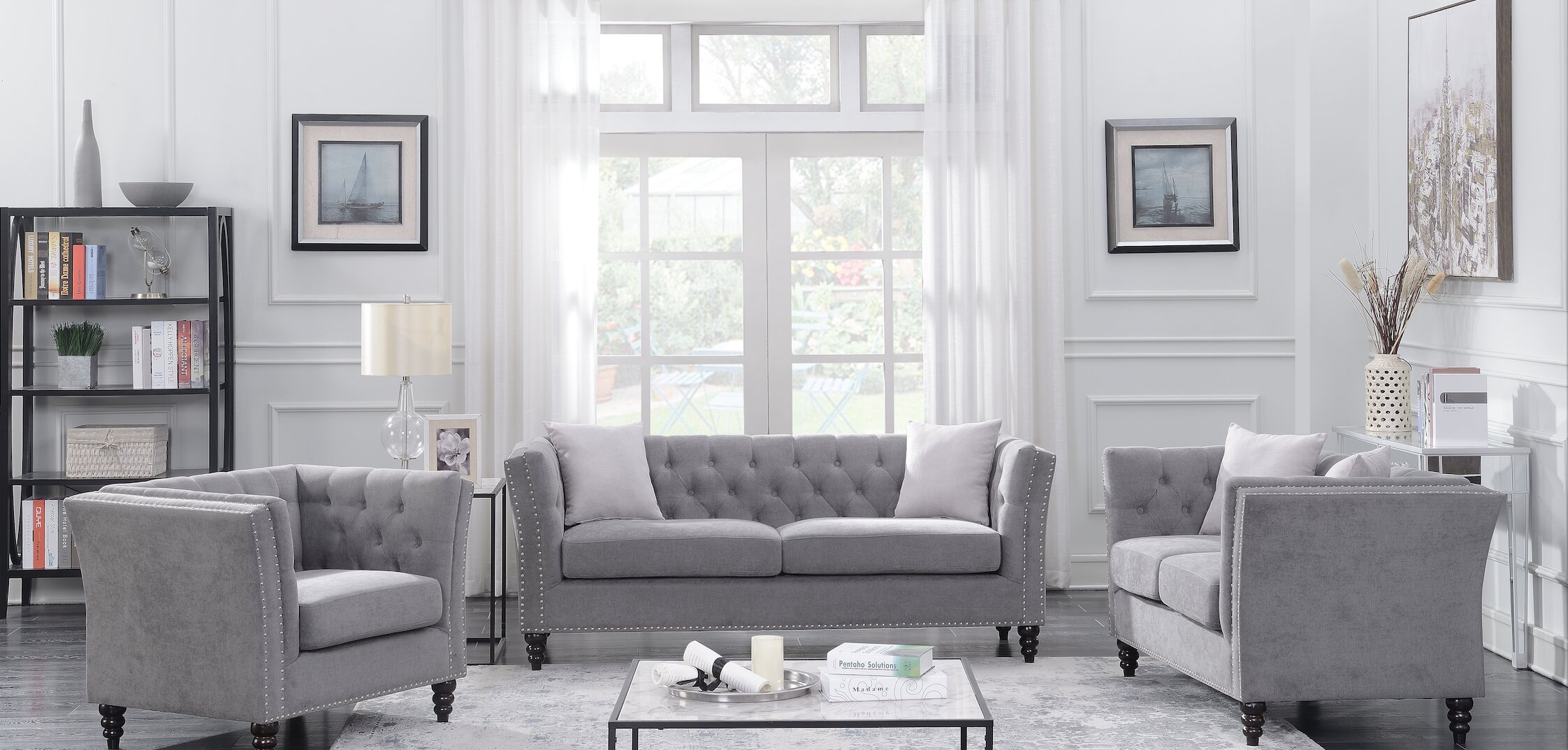 3 Piece Living Room Set You Ll Love In 2021 Visualhunt