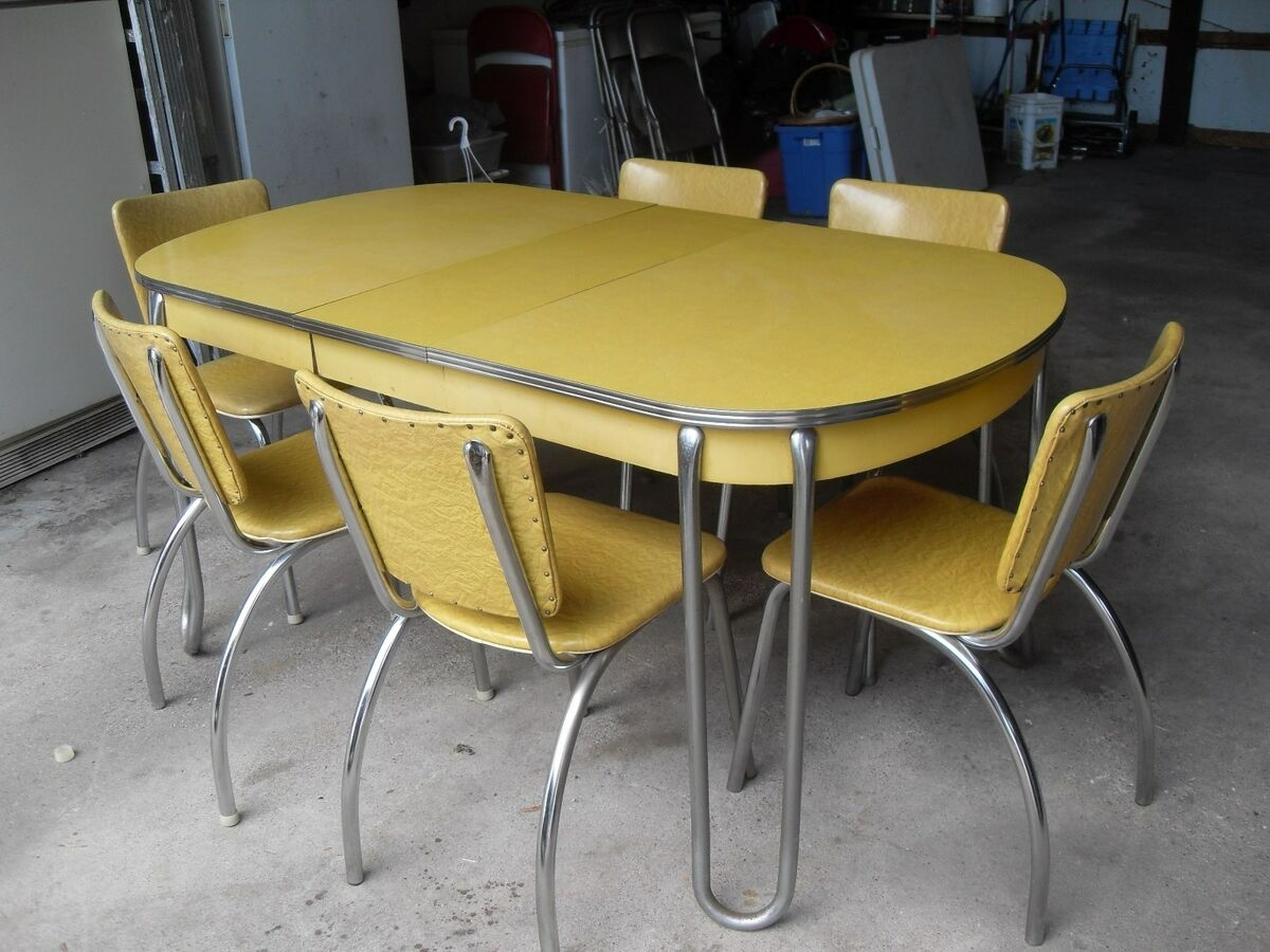 Retro Kitchen Table and Chairs You'll Love in 9   VisualHunt