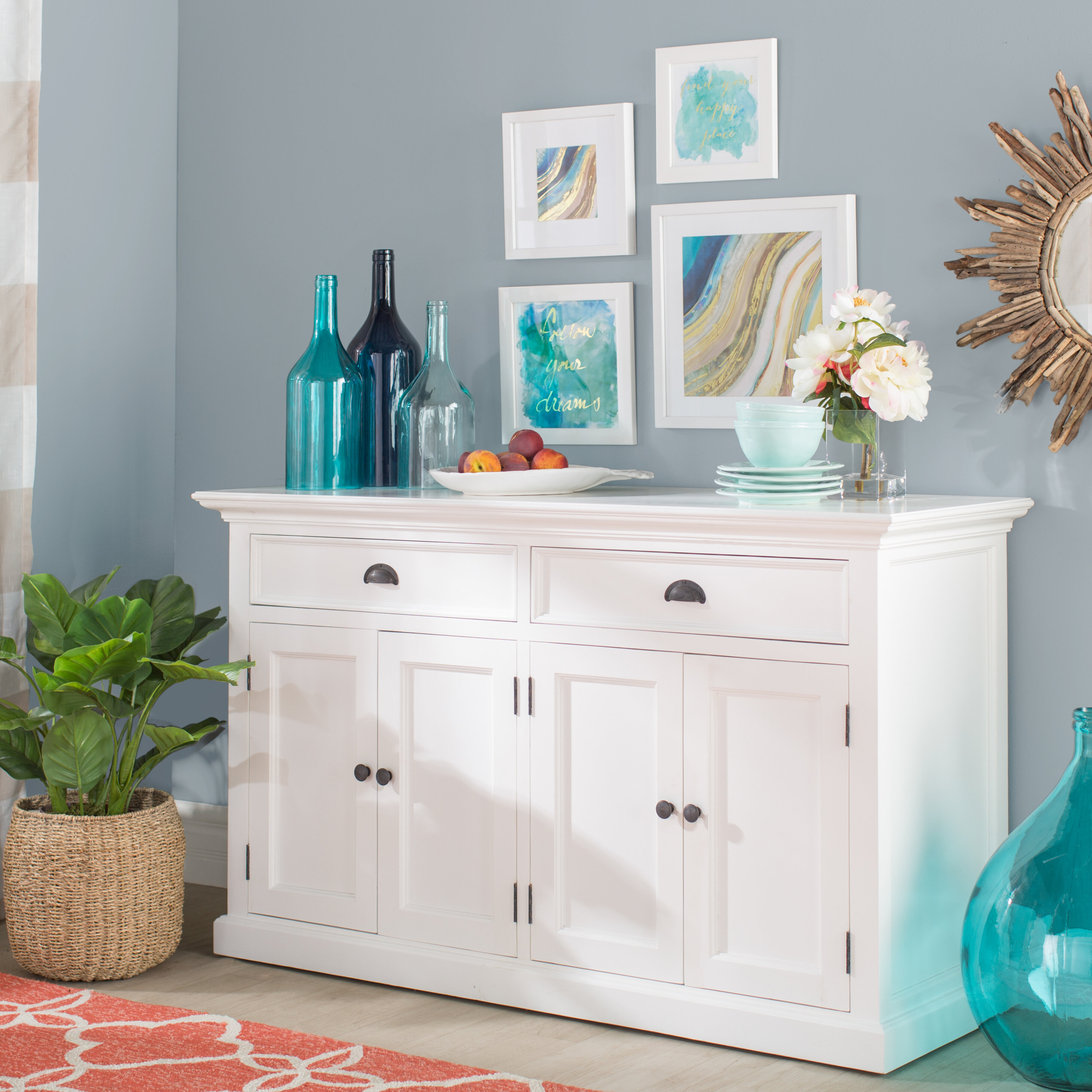 Choose Sideboards And Buffets, What Size Sideboard For Dining Room