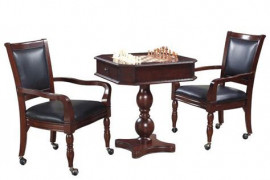 Chess Table with Chairs