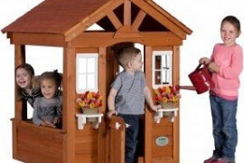 Affordable Wooden Playhouses