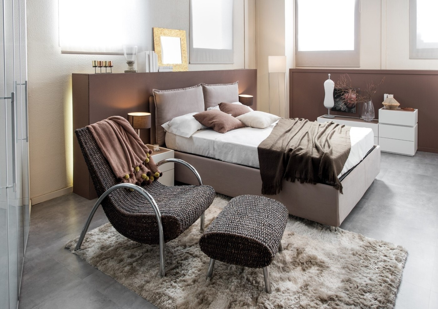 Bedroom With Recliner Chair