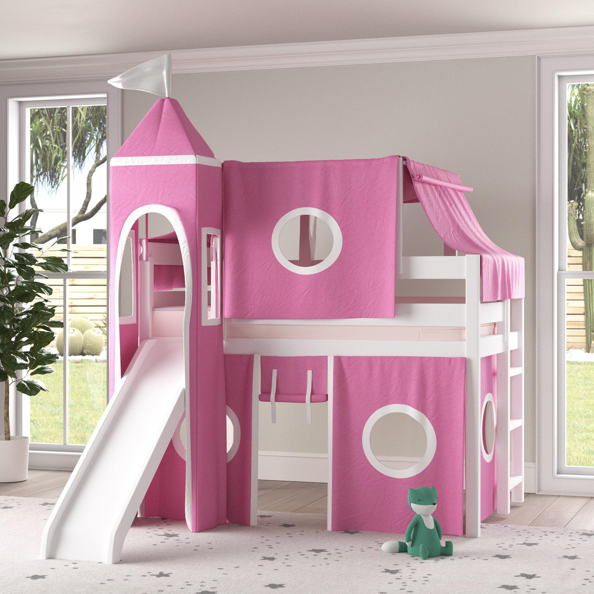 Castle Twin Low Loft Bed