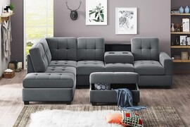 Small Reclining Sectional
