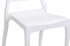 White Plastic Patio Chairs
