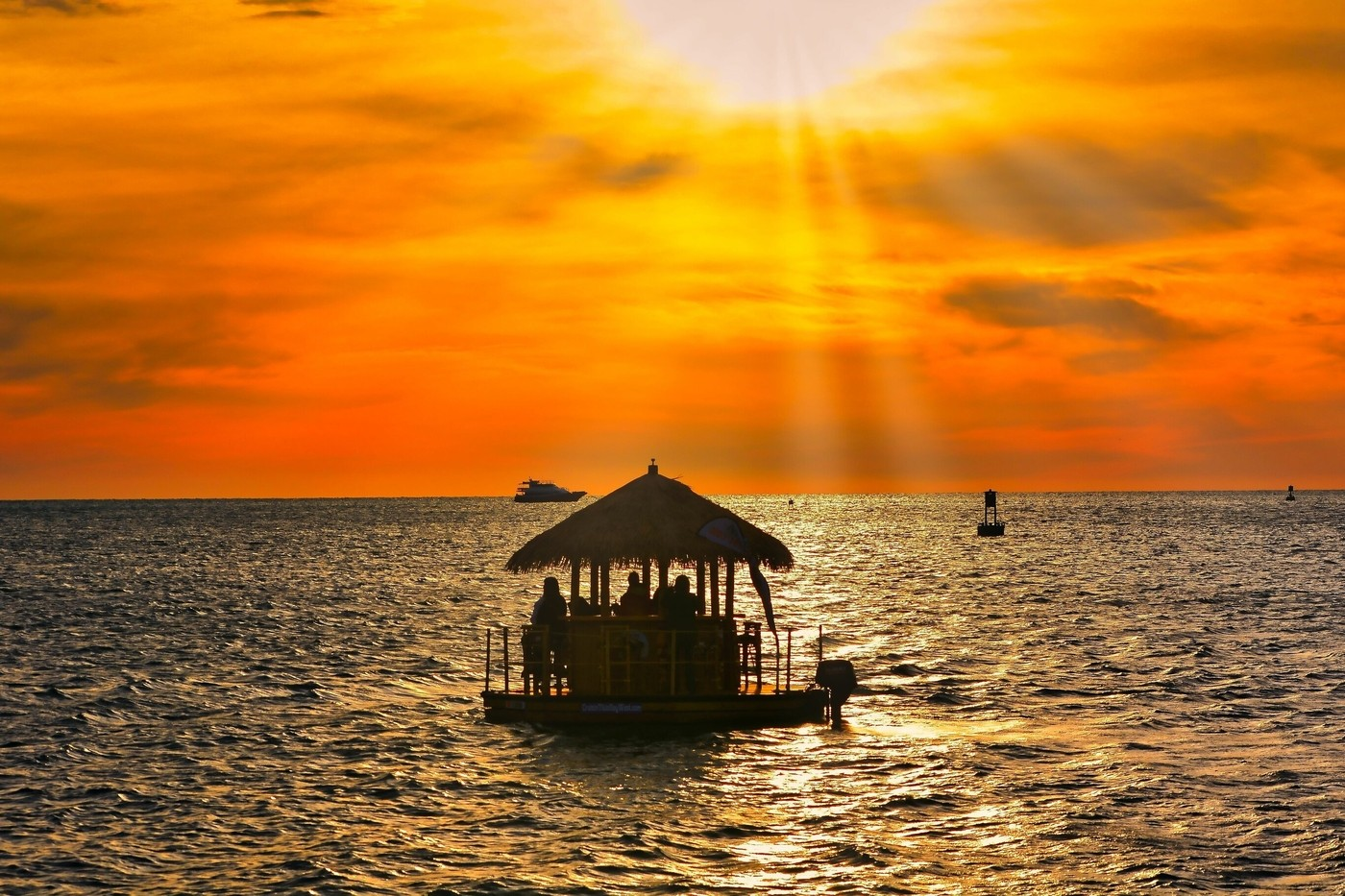 Sunset Cruise Tiki Bar