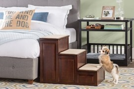 Dog Stairs for Tall Bed