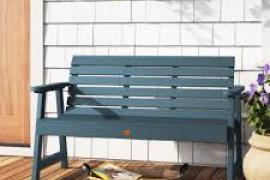 Plastic Patio Bench