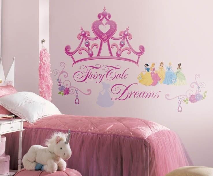 Disney Princess Crown Cutout Wall Decal