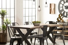5 Stylish Designs With Benchwright-Inspired Dining Tables