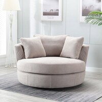 Round Swivel Chair You Ll Love In 2021, Round Swivel Chair Living Room