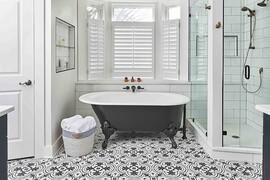 30 Striking Black and White Bathroom Ideas