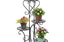 Steel Plant Stand Design