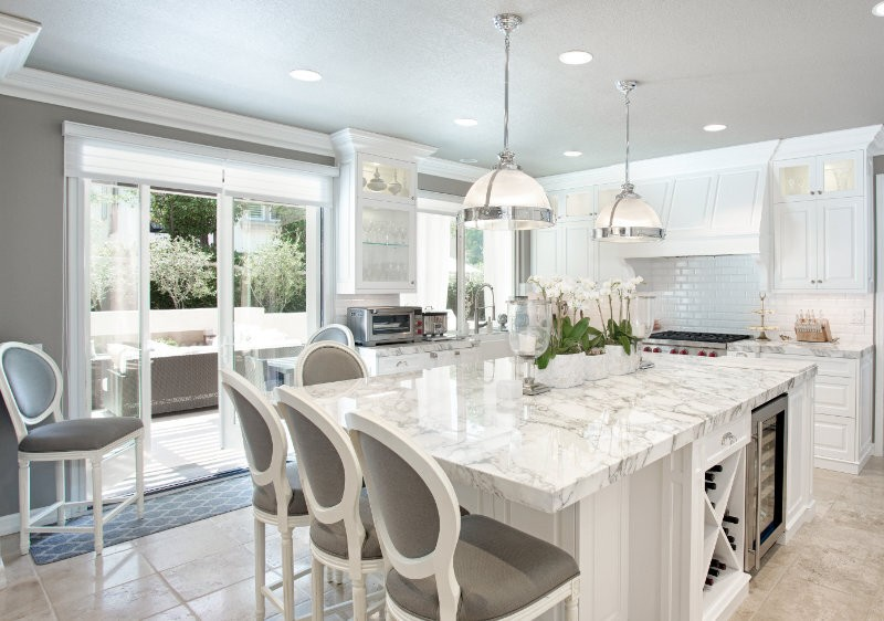 White Marble Surfaces