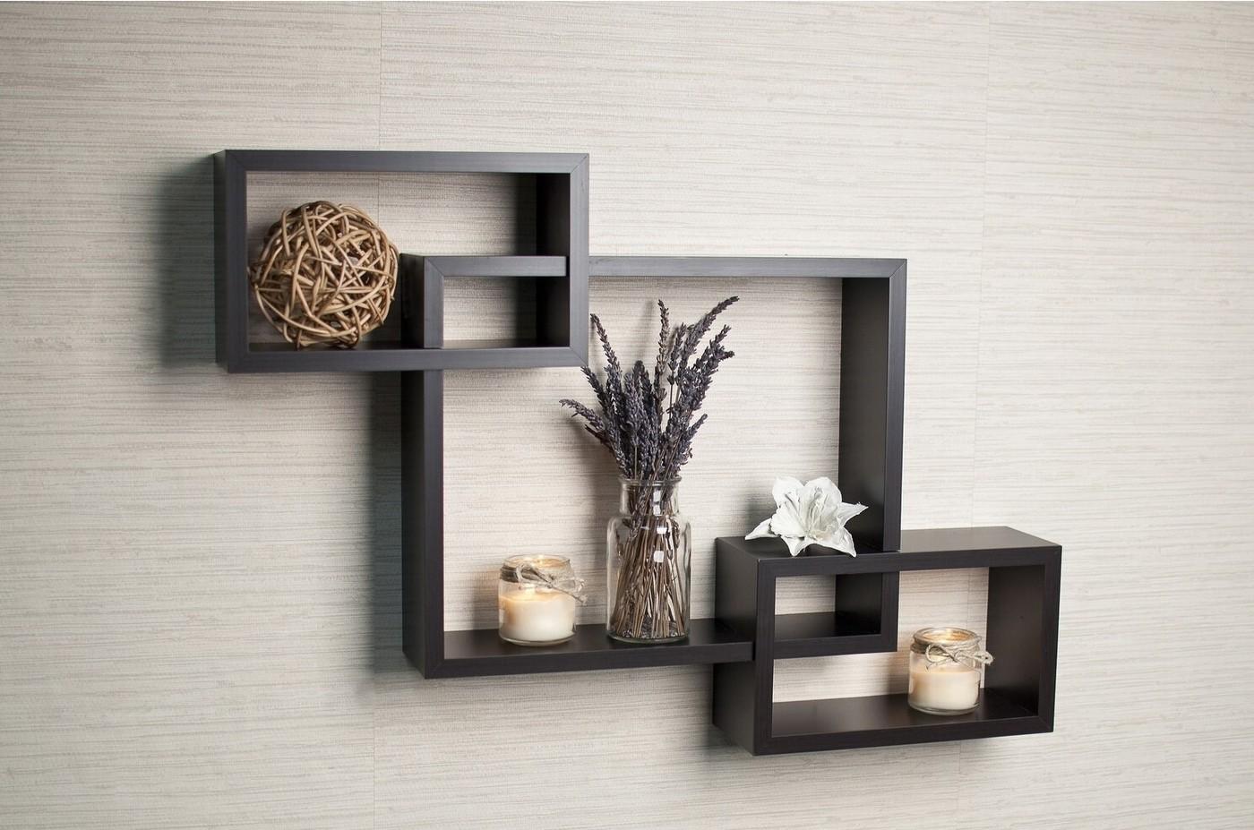 Wood Laminate Connected Box Shelves