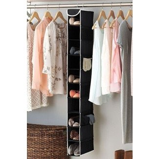 10 Pair Hanging Shoe Organizer