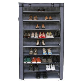 10 Tiers 45 Pair Shoe Rack