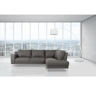 Alsatia Casa Primrose - Modern Eco-Leather Sectional Sofa