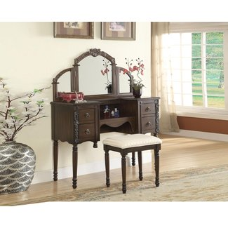 Ashton Vanity Set with Mirror