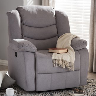 Baxton Studio Power Recliner