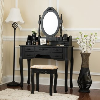 Charlemagne Vanity Set with Mirror
