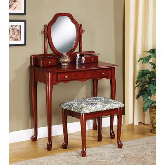 Craigmillar Vanity Set with Mirror