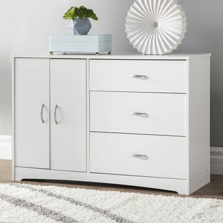 Everett 3 Drawer Combo Dresser