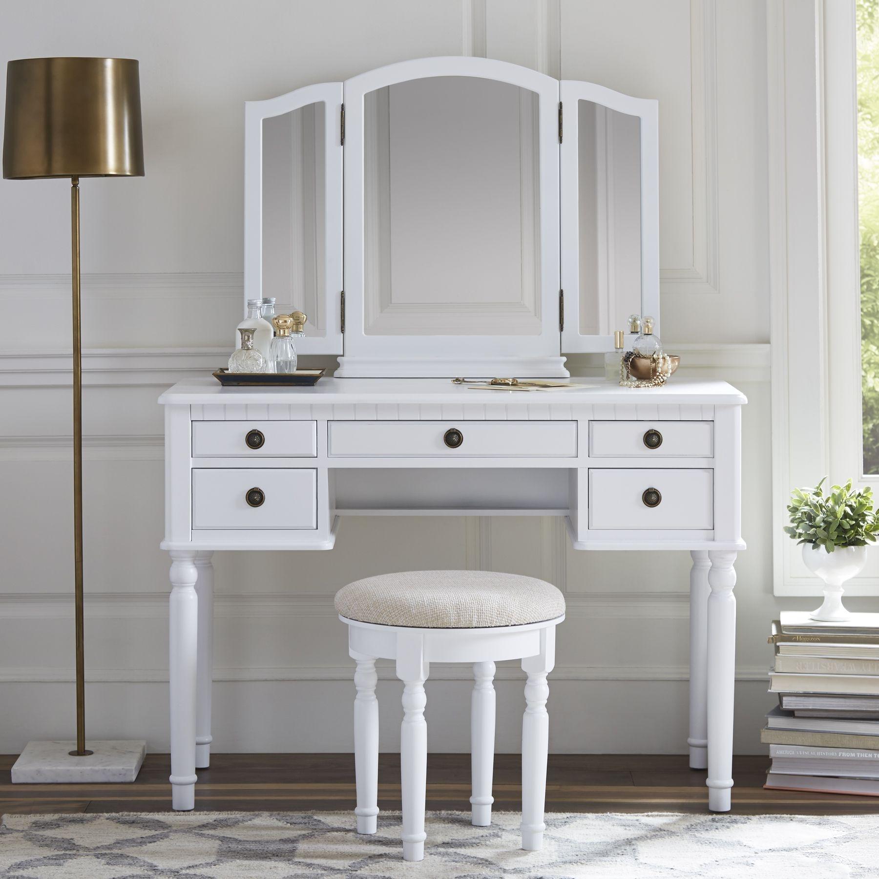 Falke Dressing Vanity Set With Mirror