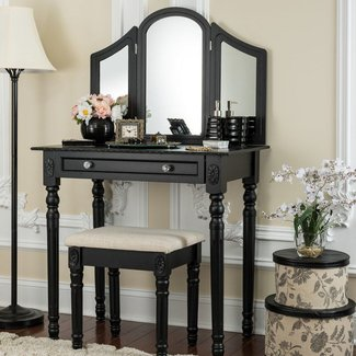 Falken Vanity Set with Mirror