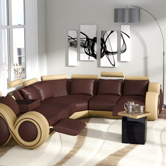 Faviola Reclining Sectional