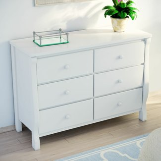 Herberta 6 Drawer Double Dresser