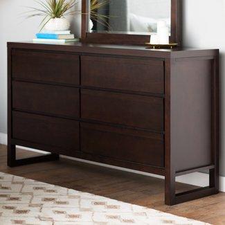Lambertville 6 Drawer Dresser