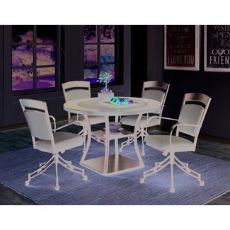 Menedemus 5 Piece Dining Set