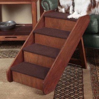 "PupStep 4 Step 25"" Wood Pet Stairs"