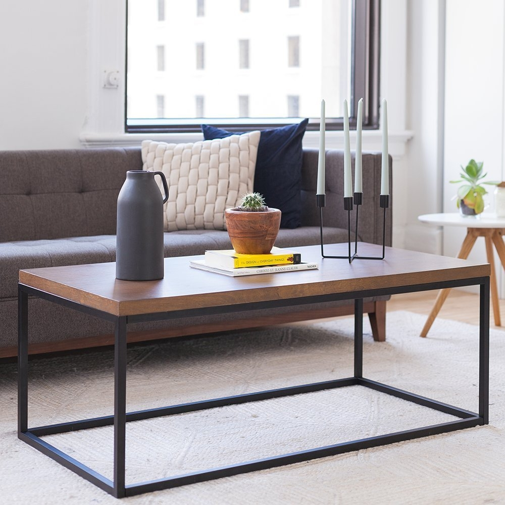 Renna Solid Wood Coffee Table