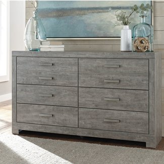 Rosen 6 Drawer Double Dresser