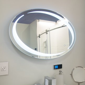 Sol Oval LED Vanity Mirror