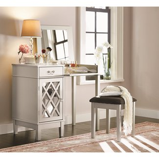 Thomasina Vanity Set with Mirror
