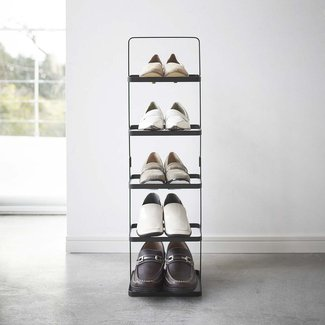 Tower 5-Tier 5 Pair Shoe Rack